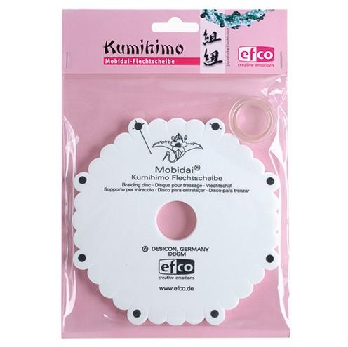 Mobidai Kumihimo Flechtscheibe DE + FR + GB ø 163 mm x 10 mm 2 - teilig