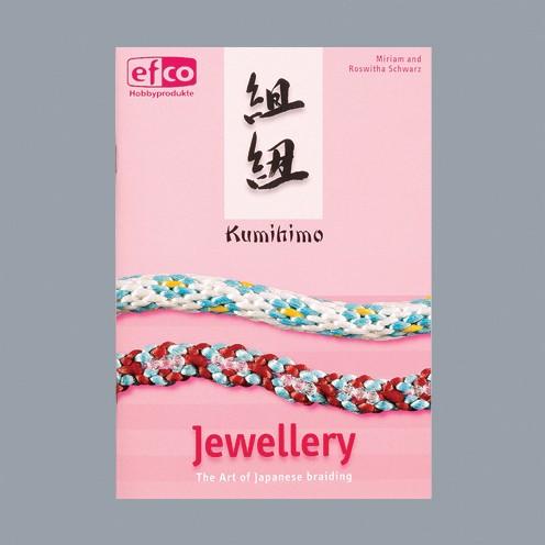 Buch englisch Kumihimo Jewellery A 5 32 Seiten Miriam und Roswitha