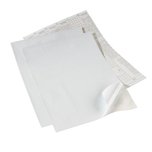 Whiteboardfolie selbstklebend 42 x 30 cm / ~ DIN A3 weiß