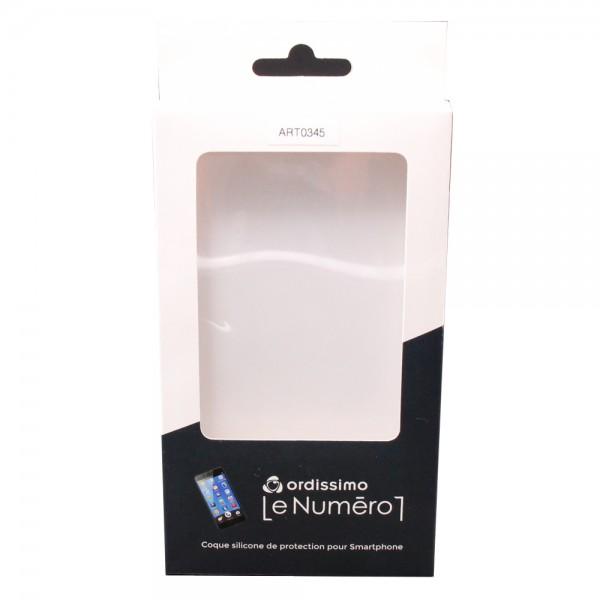 Ordissimo ART0345 Handy-Schutzhülle 14 cm (5.5 Zoll) Abdeckung Transparent