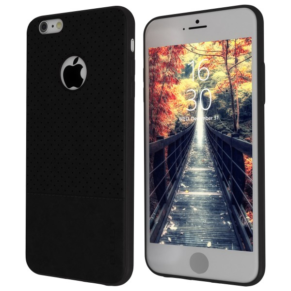 "BACK CASE QULT """"DROP"""" iPhone 6/6s 4.7"""" black"