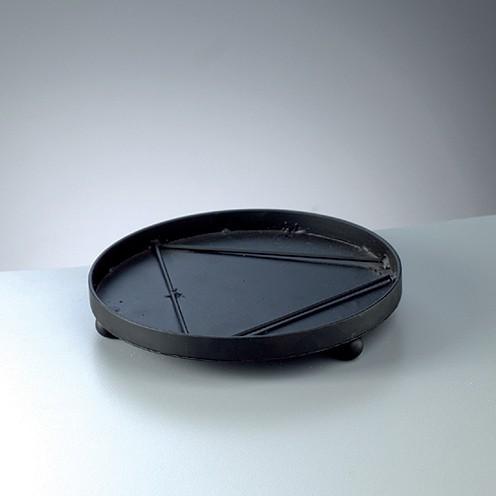 Mosaix Untersetzer rund ø 20 x 3,3 cm schwarz