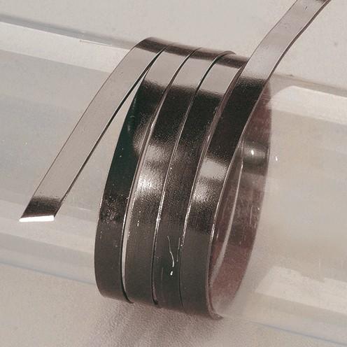 Aludraht eloxiert flach 1 x 5 mm 2 m schwarz