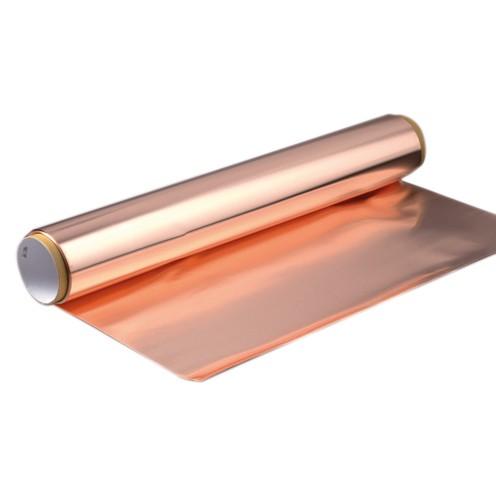 Kupferfolie Rolle 600 mm breit/0,1 mm stark