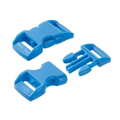 Klickschnalle 11 / 14 mm hellblau