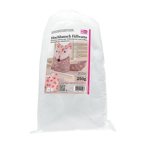 Füllwatte Hochbausch zum Befüllen und Dekorieren 250 g weiß