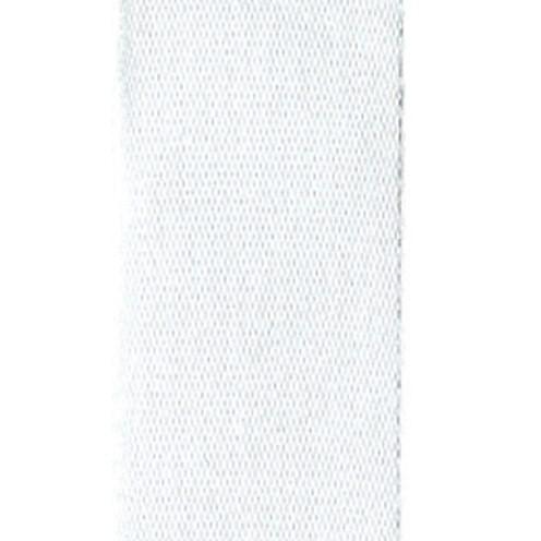 Dekoband Standard waschbar 30° 8 mm weiß
