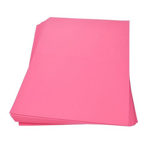 Moosgummiplatte 300 x 450 x 2 mm pink