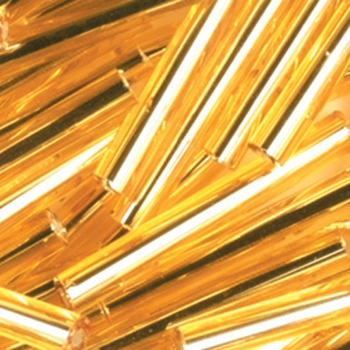 Stiftperlen Silbereinzug ø 2 x 20 mm 500 g gold
