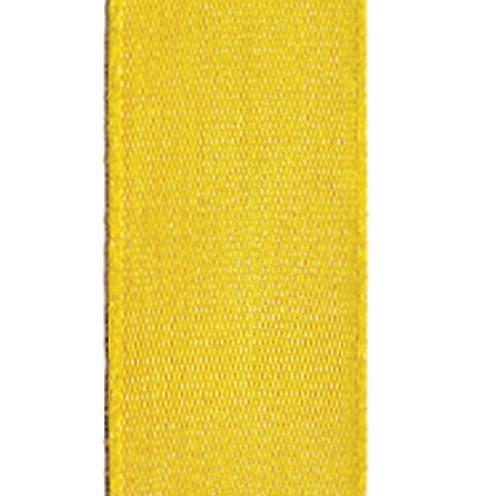 Dekoband Standard waschbar 30° 8 mm sonnengelb