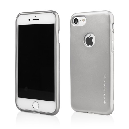 MERCURY i-JELLY iPhone 7/8 silver/hole