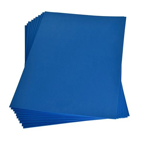 Moosgummiplatte 200 x 300 x 2 mm blau