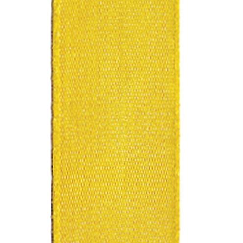 Dekoband Standard waschbar 30° 15 mm sonnengelb
