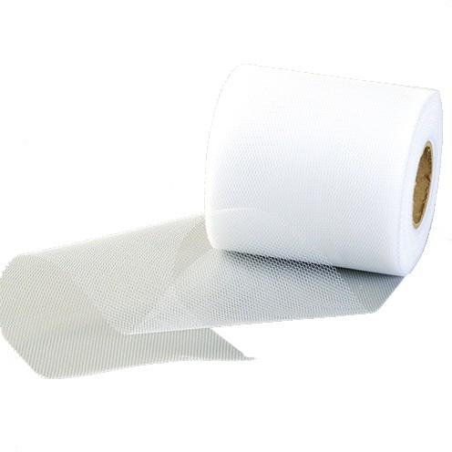 Tüllband 100 mm weiß
