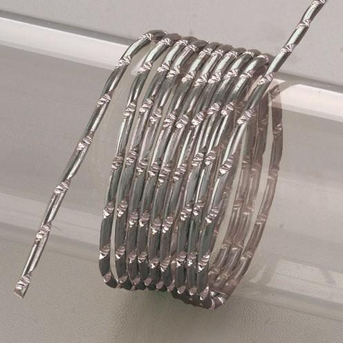 Aludraht eloxiert Diamant ø 2 mm 2 m dunkelgrau