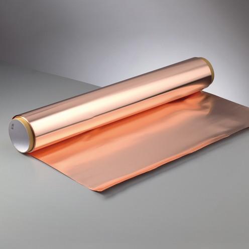Kupferfolie Rolle 600 mm breit/0,1 mm stark 5 m