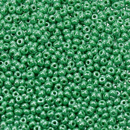 Indianerperlen opal ø 2,6 mm 17 g grün