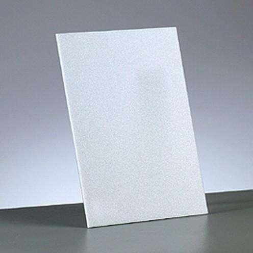 Leichtstoffplatte kaschiert 21 x 29,7 cm x 10 mm weiß