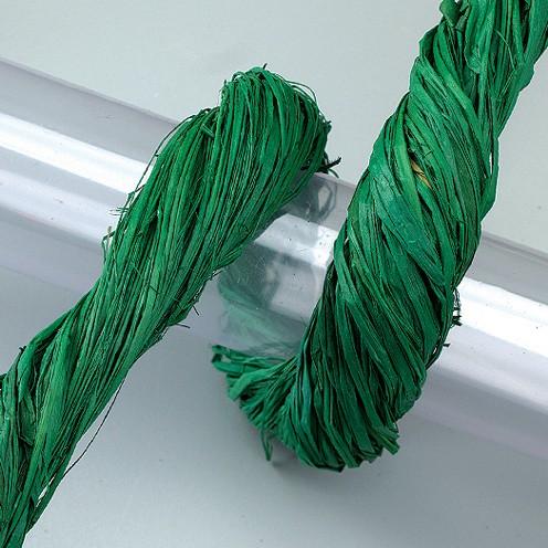 Raffia-Gartenbast 50 g grün