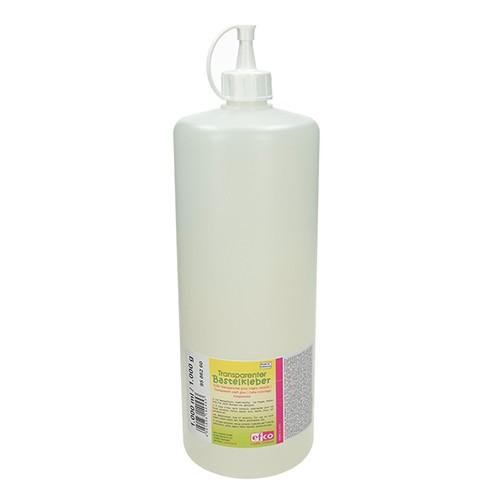 Transparenter Bastelkleber 1.000 ml / 1.000 g