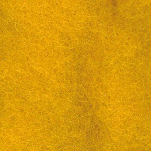 Wolle zum Filzen reine Schurwolle 50 g dunkelgelb