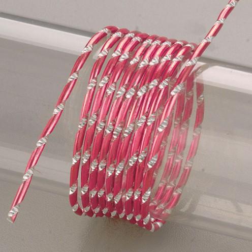 Aludraht eloxiert Diamant ø 2 mm 2 m rosa