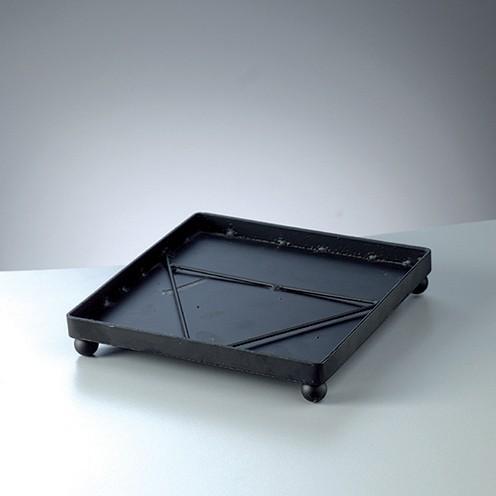 Mosaix Untersetzer quadratisch 18 x 18 x 3,3 cm schwarz