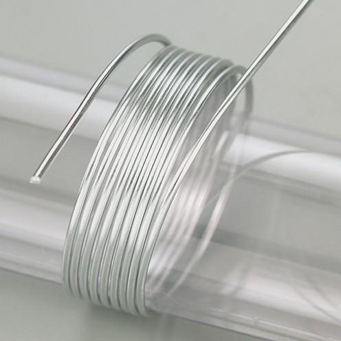 Aludraht eloxiert ø 2 mm 5 m / ~ 42 g grau
