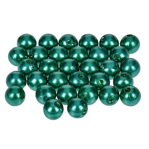 Wachsperlen ø 8 mm 32 Stk. grün