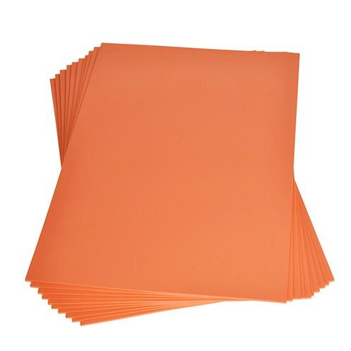 Moosgummiplatte 200 x 300 x 2 mm orange