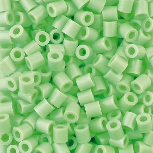 Nabbi® - Bügelperlen ~Ø 5 x H 5 mm 1.100 Stk. lindgrün Nr.32252