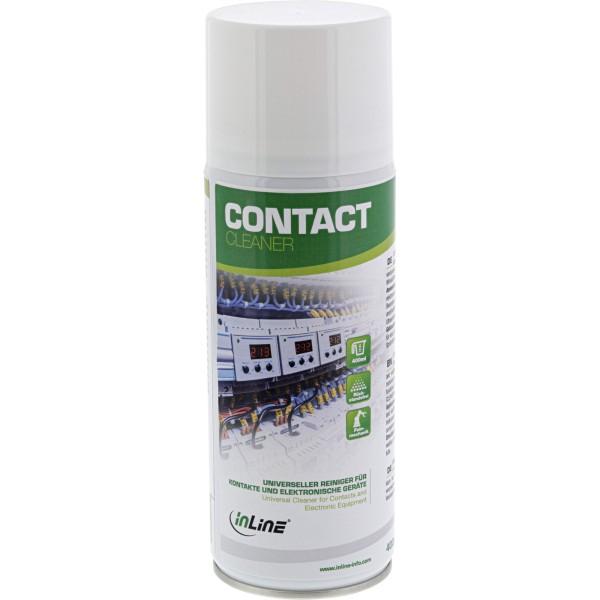 InLine Contact Cleaner - universeller Reiniger für Kontakte und elektronische Geräte - 400ml
