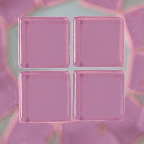 MosaixSoft-Glassteine 15 x 15 x 4 mm 1.000 g ~ 457 Stk. lila