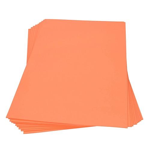 Moosgummiplatte 300 x 450 x 2 mm orange