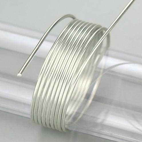 Aludraht eloxiert ø 2 mm 5 m / ~ 42 g pearl