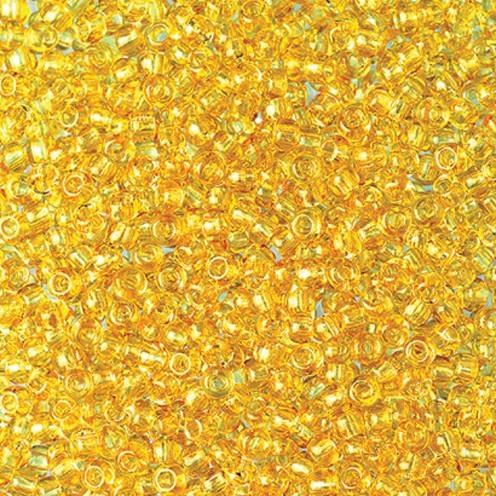 Indianerperlen transparent ø 3,5 mm 500 g helltopas