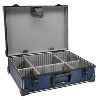 InLine Werkzeugkoffer - ABS/Aluminium blau/schwarz - unbestückt - abschließbar