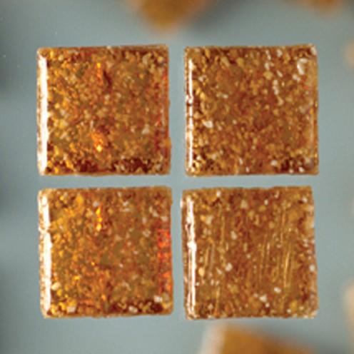 MosaixPro-Glassteine 20 x 20 x 4 mm 200 g ~ 63 Stk. braun