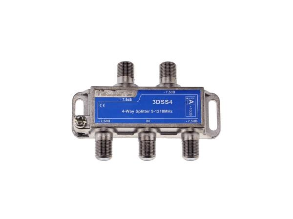 3DSS4 4-fach Verteiler 5-1218 MHz