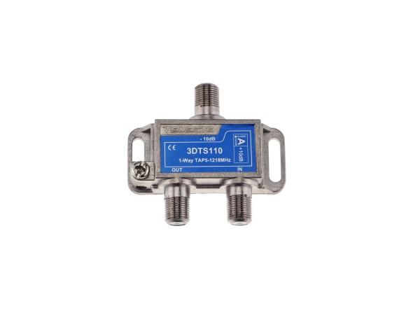 3DTS110 1-fach Abzweiger 10dB, 5-1218 MHz