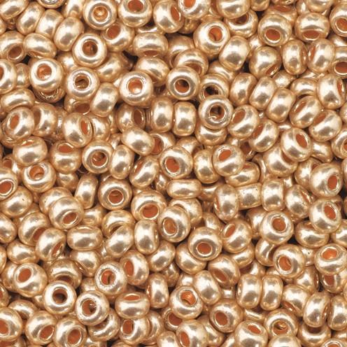 Indianerperlen metallic ø 2,6 mm 17 g kupfer