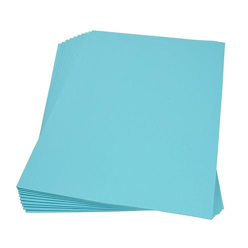 Moosgummiplatte 300 x 450 x 2 mm hellblau