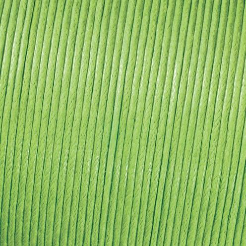 Baumwollkordel gewachst ø 2,0 mm hellgrün