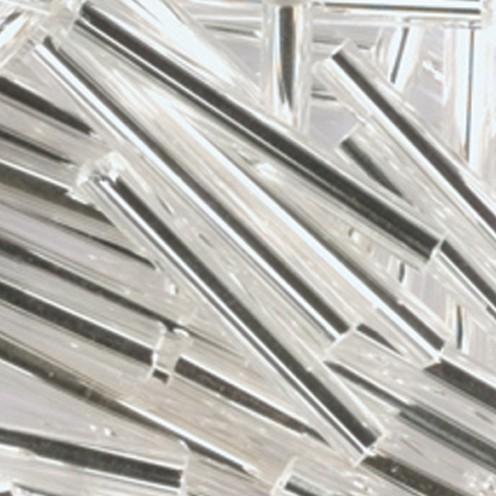 Stiftperlen Silbereinzug ø 2 x 11 mm 13 g silber