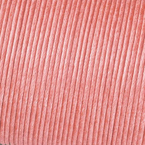 Baumwollkordel gewachst ø 2 mm / 6 m rosa