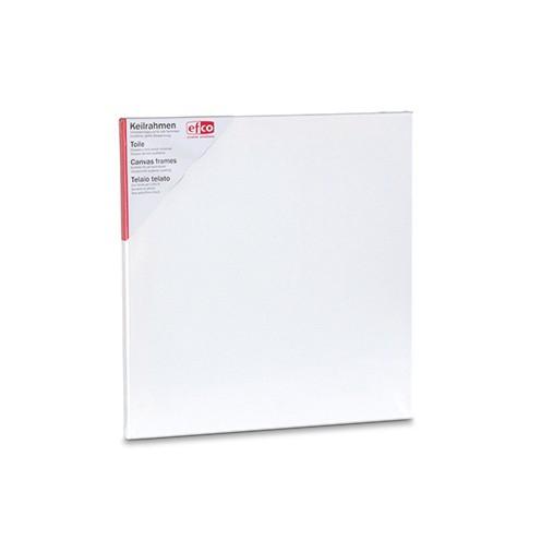 Keilrahmen bespannt 40 x 40 cm / 1,7 cm weiß
