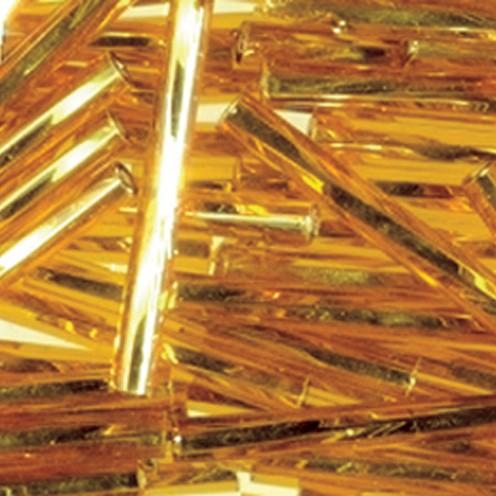 Stiftperlen Silbereinzug gedreht ø 2 x 30 mm 500 g gold