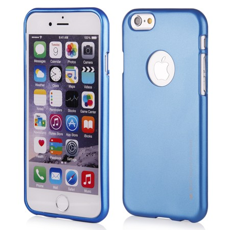 MERCURY i-JELLY iPhone 6/6s blue/hole