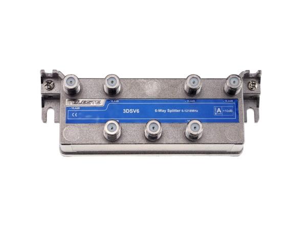3DSV6 6-fach Verteiler 5-1218 MHz, TAP-Bauform