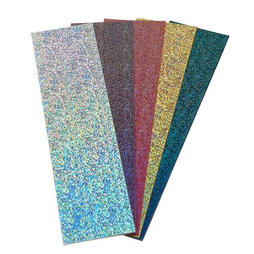 Wachsplatten Set 5 200 x 50 x 0,5 mm 5 Stück glimmer sortiert